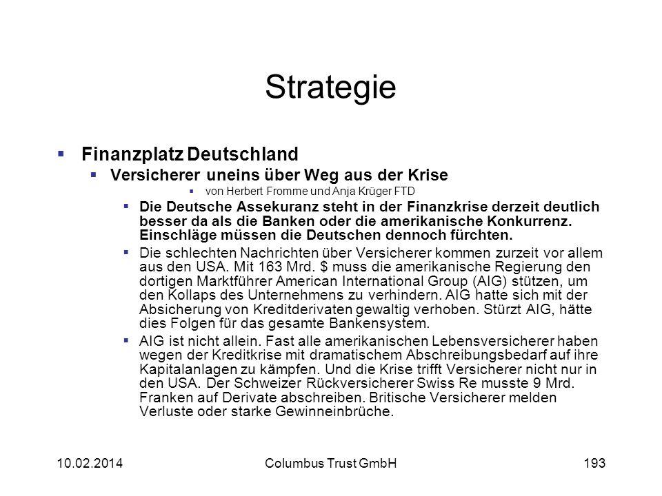 Strategie Finanzplatz Deutschland Versicherer uneins über Weg aus der Krise von Herbert Fromme und Anja Krüger FTD Die Deutsche Assekuranz steht in de