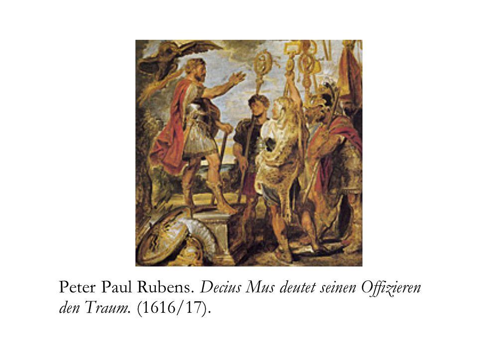 Peter Paul Rubens. Decius Mus deutet seinen Offizieren den Traum. (1616/17).