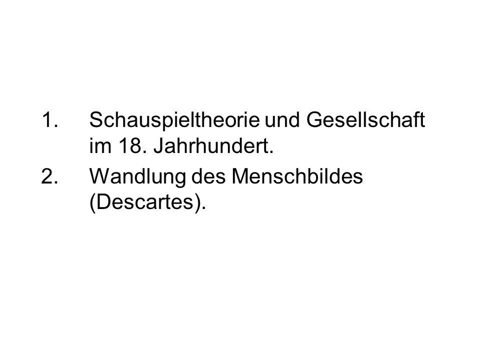 2. Wandlung des Menschbildes (Descartes).