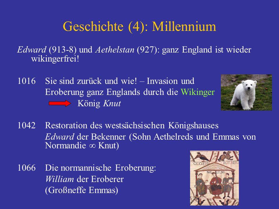 Zur Orientierung...1. Text und Mythos 2. Geschichte England König Alfred 3.