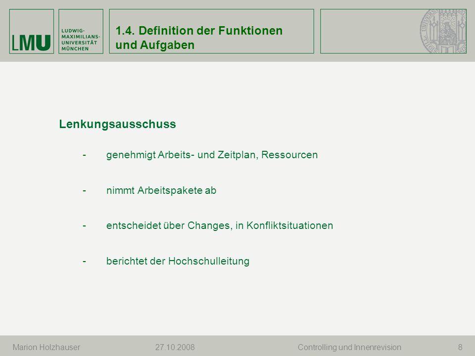 3.Stand der KLR-Einführung S. Mezler, CuI27.10.200819 3.