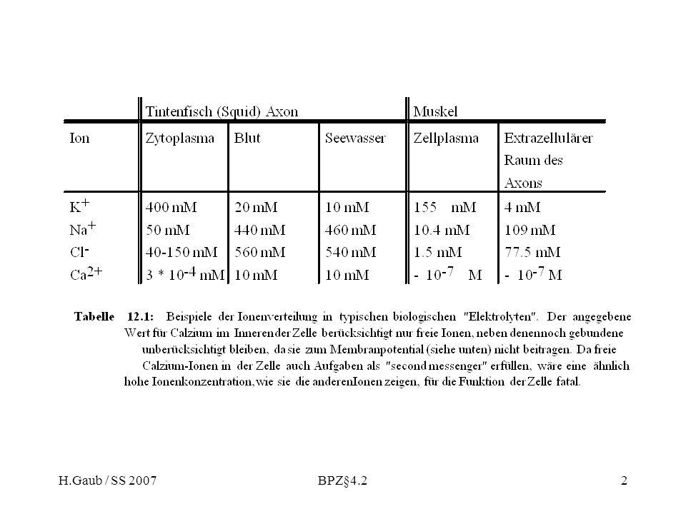 H.Gaub / SS 2007BPZ§4.22