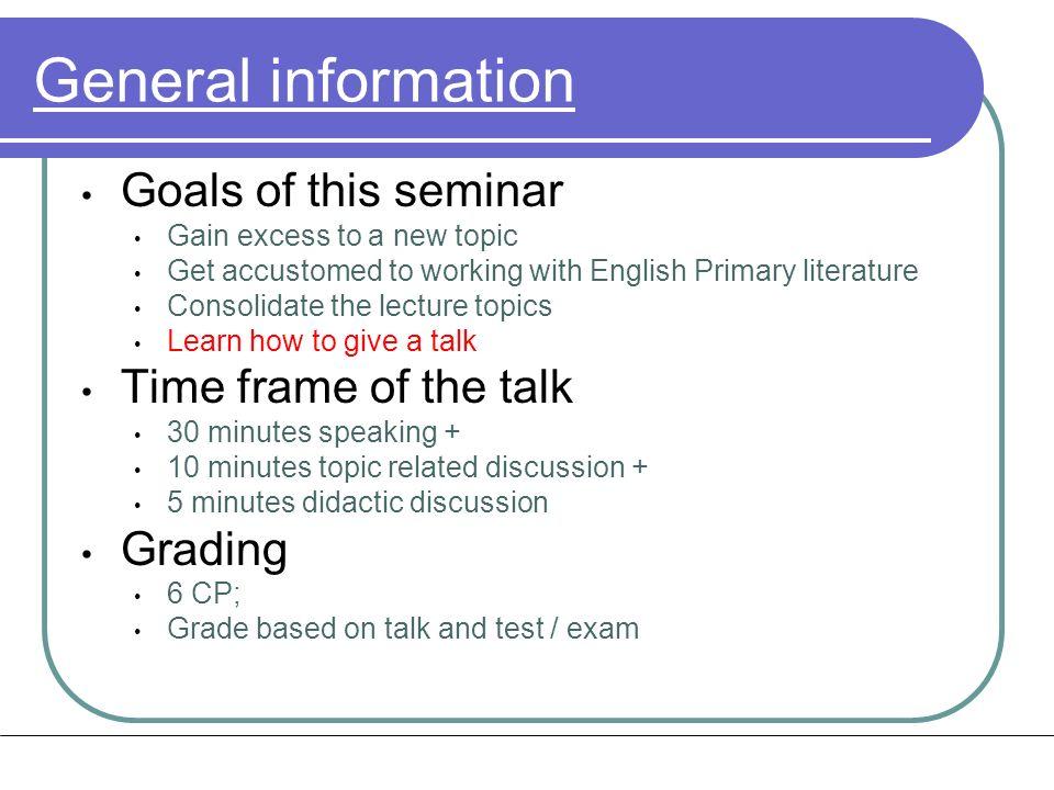 contacts Dieter Braun Dieter.Braun@lmu.de 2180 - 2317 Discuss the prepared talk with Christoph Wienken or Mario Herzog.