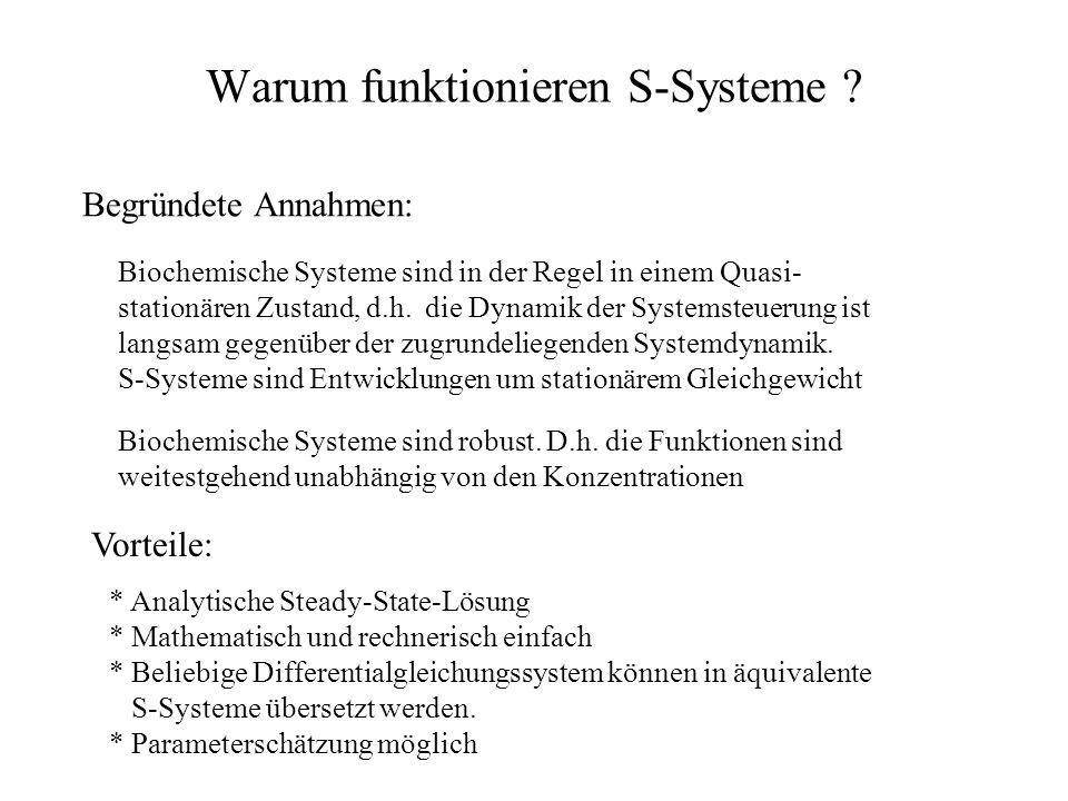 Warum funktionieren S-Systeme .