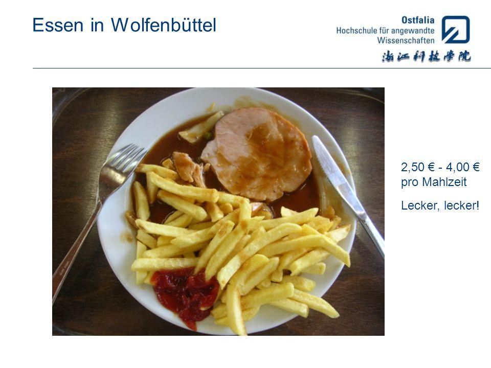 Essen in Wolfenbüttel 2,50 - 4,00 pro Mahlzeit Lecker, lecker!