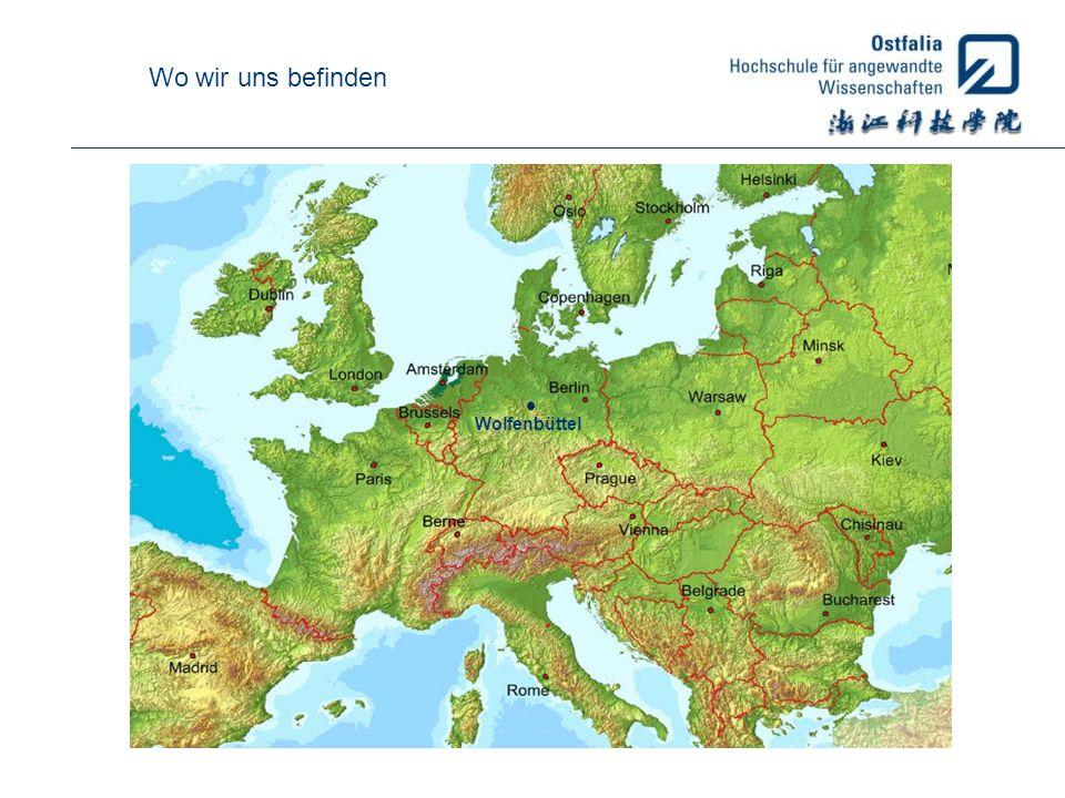Unsere Standorte Wolfenbüttel Elektrotechnik Informatik Maschinenbau Versorgungstechnik Recht Soziale Arbeit Wolfsburg Fahrzeugtechnik Gesundheitswesen Wirtschaft Salzgitter Verkehr Sport / Tourismus Medien Suderburg Bau – Wasser - Boden Handel und Soziale Arbeit