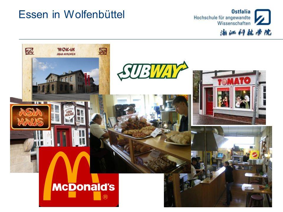 Essen in Wolfenbüttel