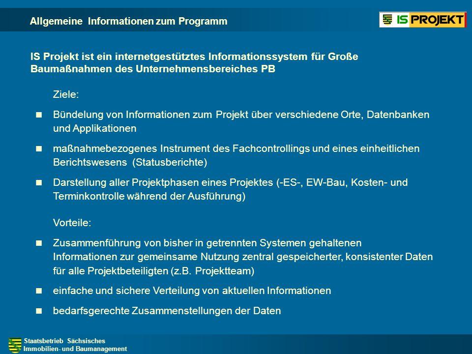 Staatsbetrieb Sächsisches Immobilien- und Baumanagement Projektphasen - Erarbeitung Entscheidungsunterlage -ES- Die Projektphasen bilden Phasen der Projekte vor Aufnahme ins HHV ab.