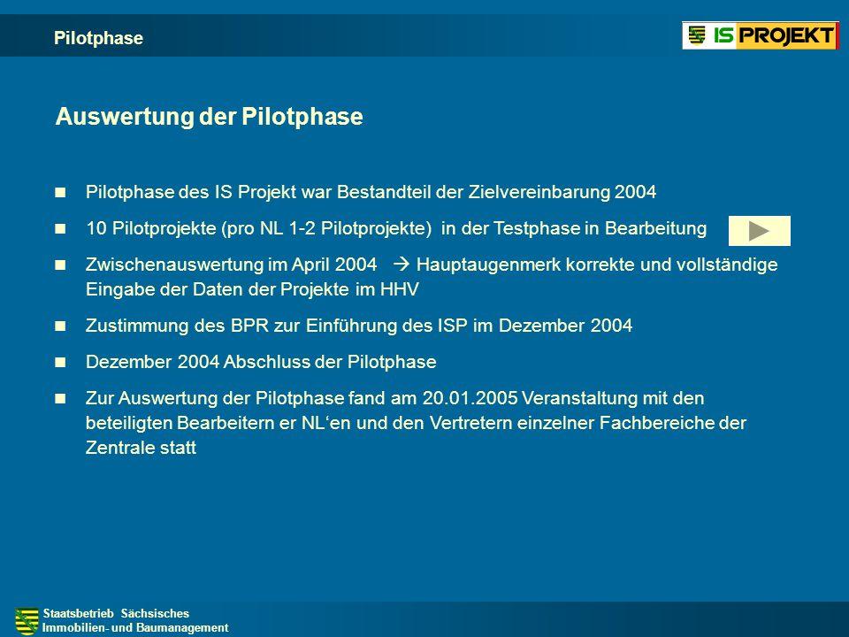 Staatsbetrieb Sächsisches Immobilien- und Baumanagement Projektphasen - Entscheidungsunterlage -ES- (genehmigt)