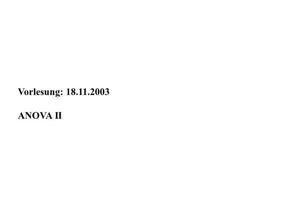 Anwendung der ANOVA bei Microarray-Datenauswertungen 2.