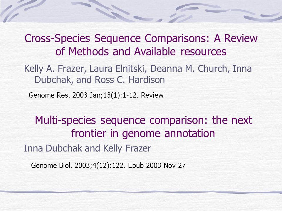 Phylogenetic Footprinting Genomannotation durch komparative Sequenzanalyse Genregulation Referat von Mandy Fuchs & Christopher Hardt
