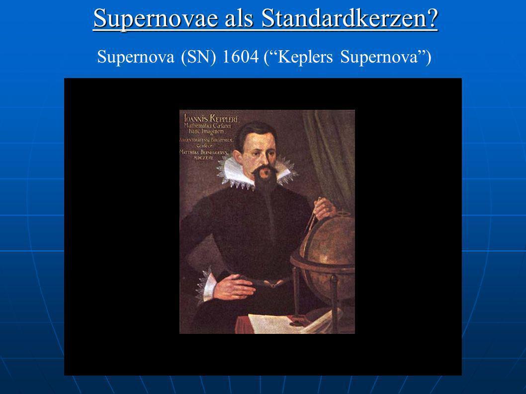 Supernovae als Standardkerzen? Supernova (SN) 1604 (Keplers Supernova)