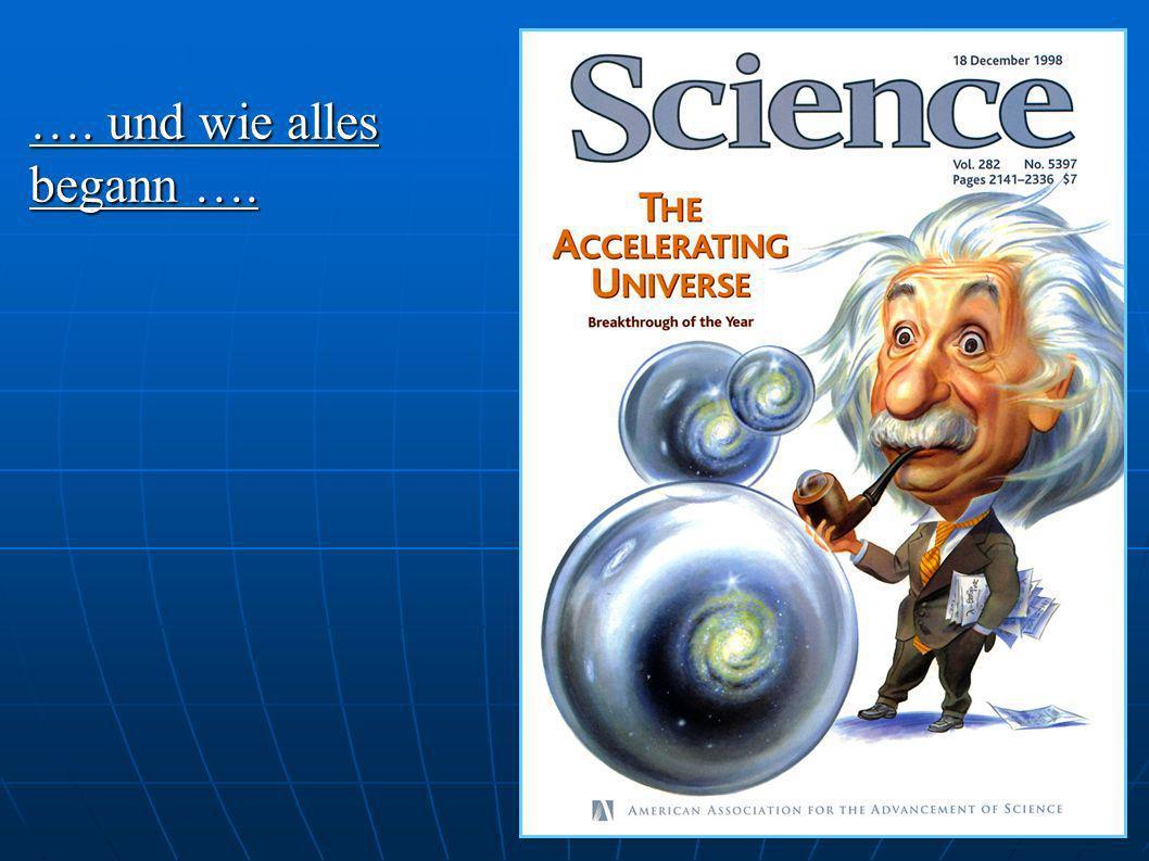 Kosmologischer Hintergrund Kosmologischer Hintergrund Einsteinsche Feldgleichungen Einsteinsche Feldgleichungen - Λ g µν ???