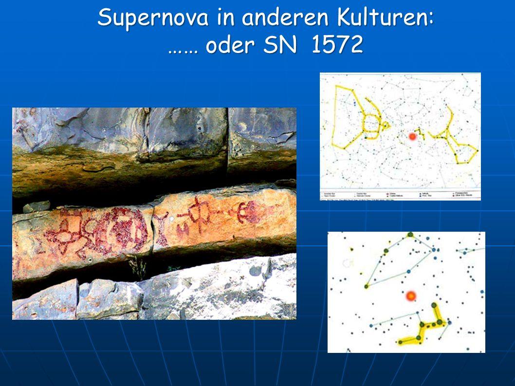 Supernova in anderen Kulturen: …… oder SN 1572