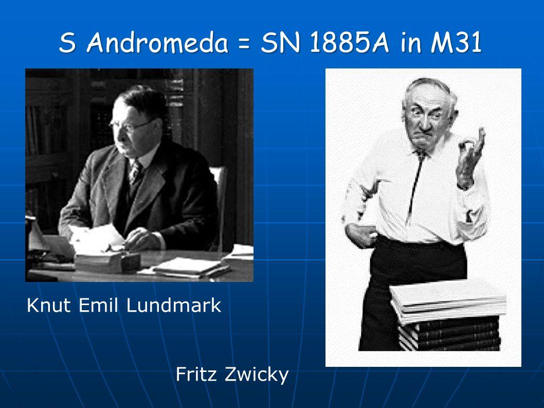 Knut Emil Lundmark Fritz Zwicky