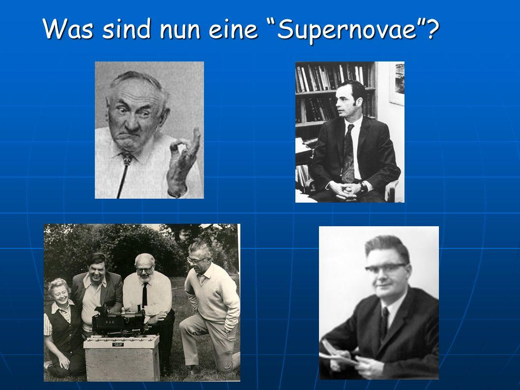Was sind nun eine Supernovae?