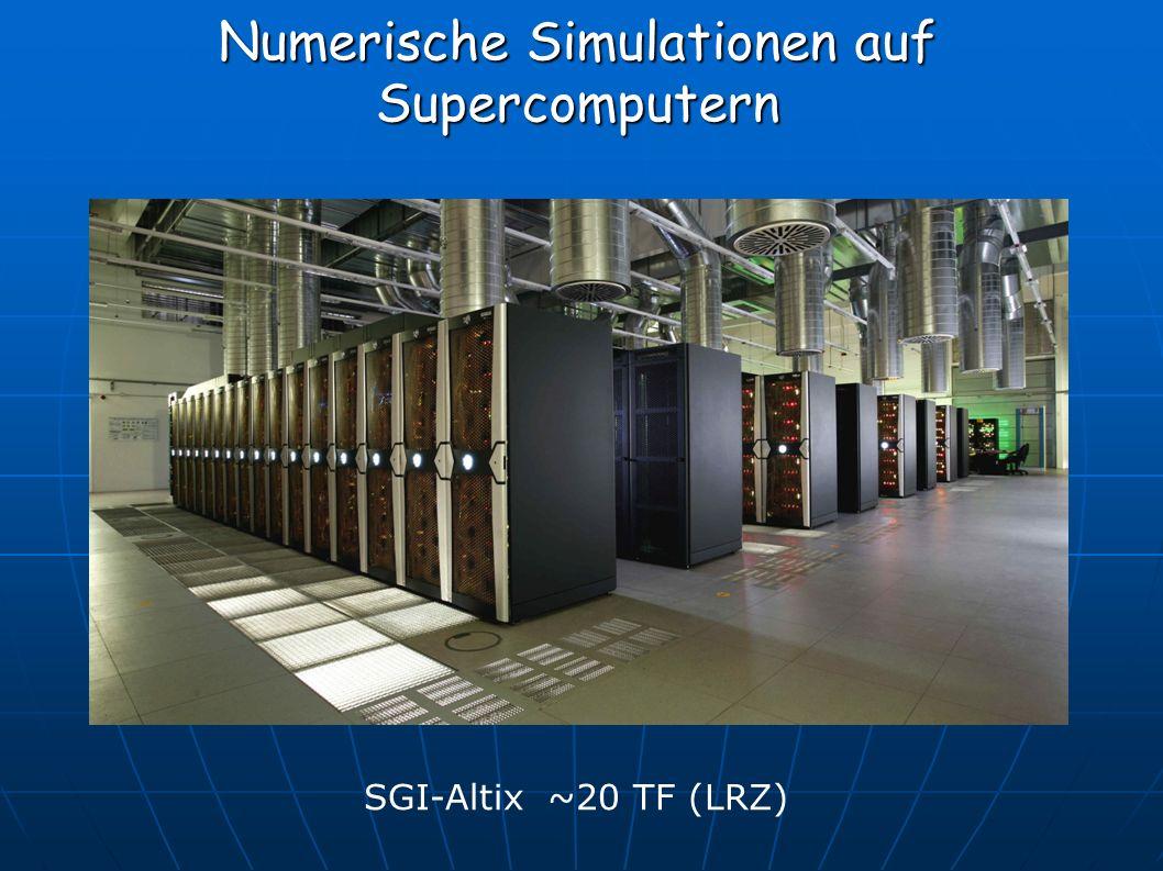 Numerische Simulationen auf Supercomputern SGI-Altix ~20 TF (LRZ)