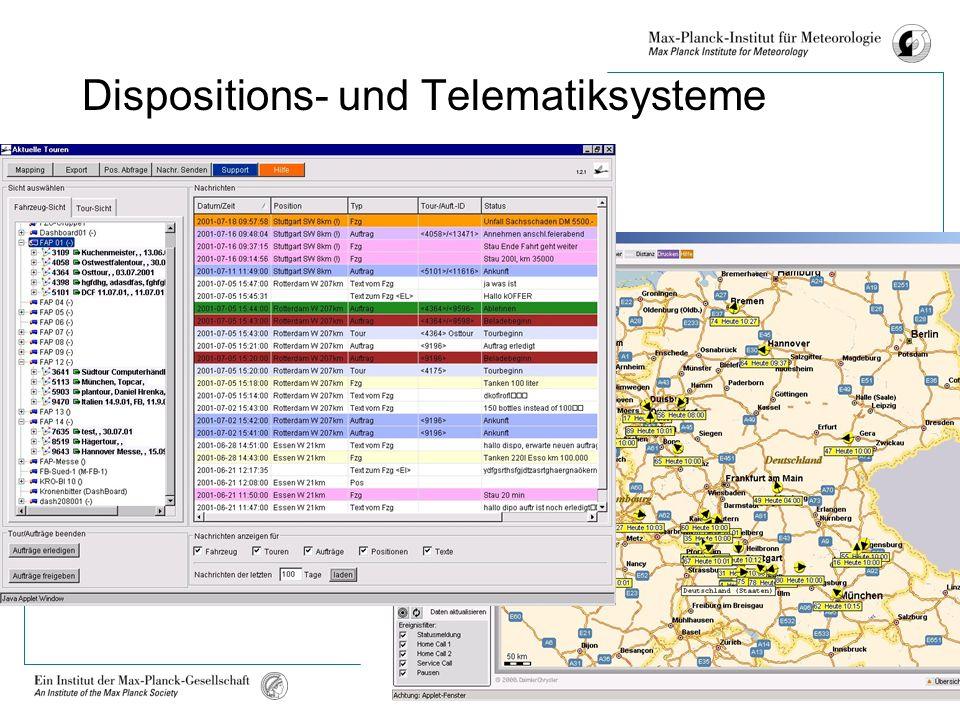 Michael Baumgartner Köln, 8. Dezember 2005 Dispositions- und Telematiksysteme