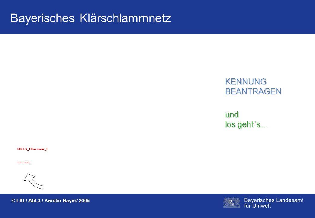 Bayerisches Klärschlammnetz © LfU / Abt.3 / Kerstin Bayer/ 2005 Papierlieferscheine in vielfacher Ausfertigung für die landwirtschaftliche Klärschlamm