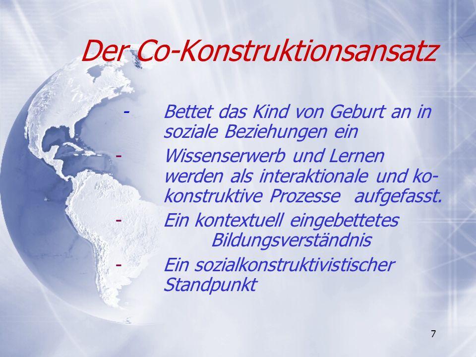 Das Bildungssystem in Deutschland: Perspektiven für Weiterentwicklung Lösungsansatz: Konsistenz (a)in den Grundsätzen und Prinzipien, (b)in den Bildungszielen und (c)bei der Organisation von Bildungsprozessen.