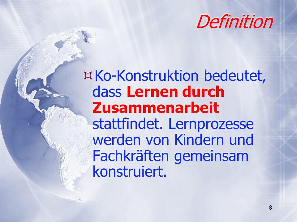 29 Der Orientierungsplan von Niedersachsen - Bildungsziele in Lernbereichen und Erfahrungsfeldern 1.
