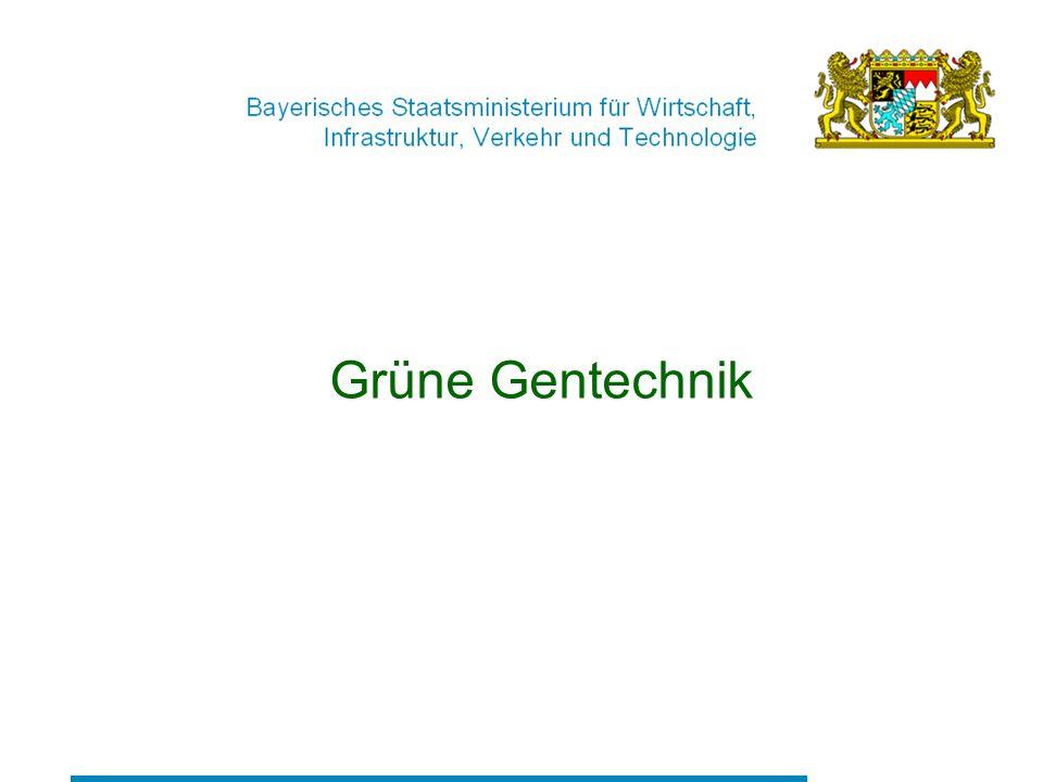 Grüne Gentechnik