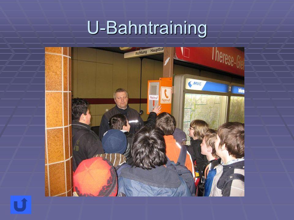 U-Bahntraining