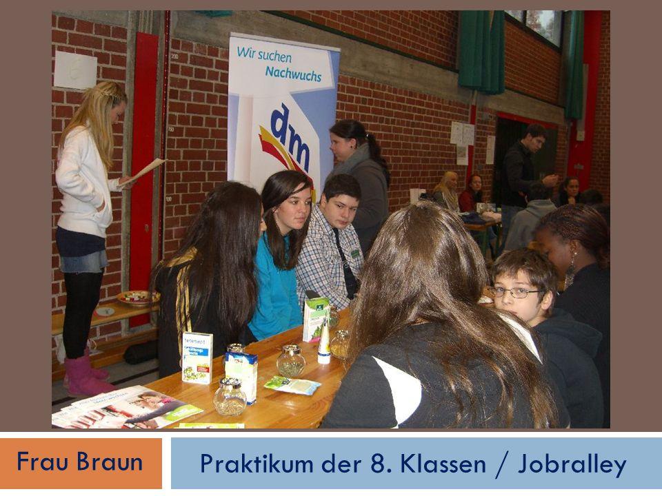 Öko-Projekt/Aids Projekt/ Lets benimm/my finance coach Frau Galata