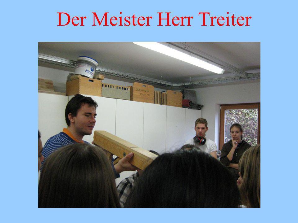 Der Meister Herr Treiter