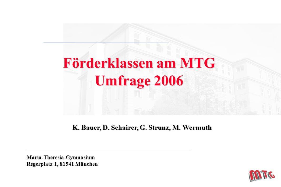 K. Bauer, D. Schairer, G. Strunz, M.