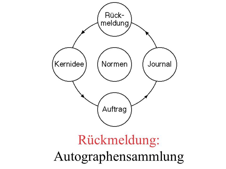 Rückmeldung: Autographensammlung