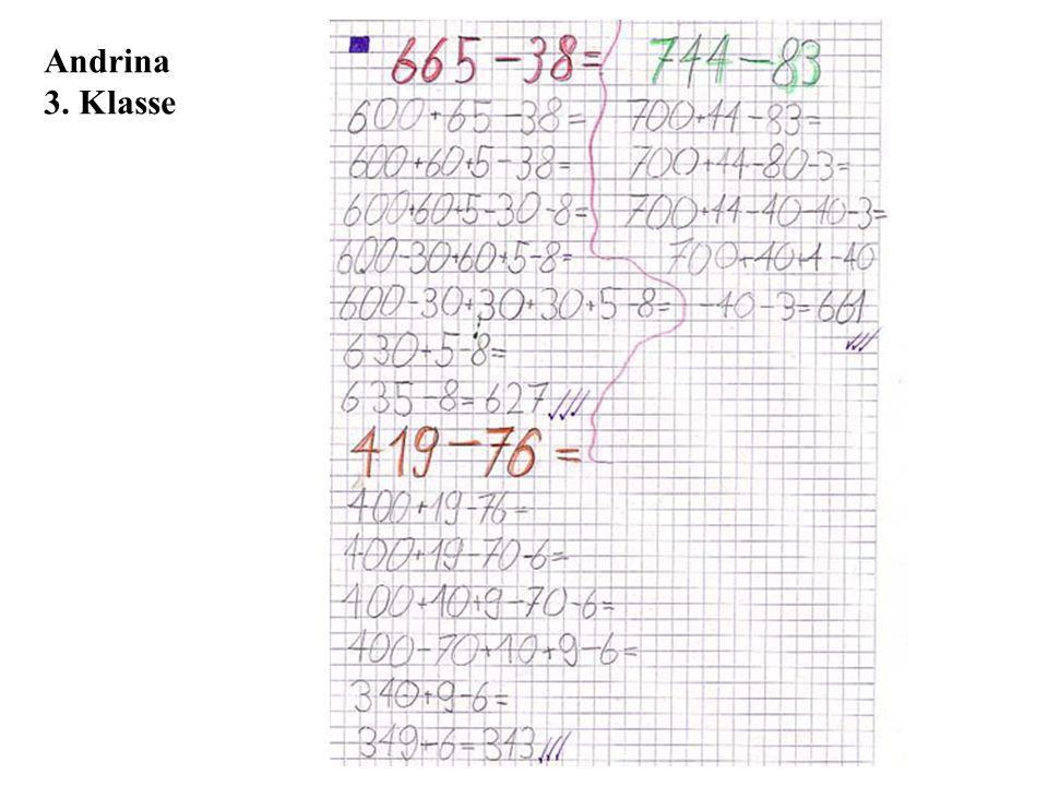 Andrina 3. Klasse
