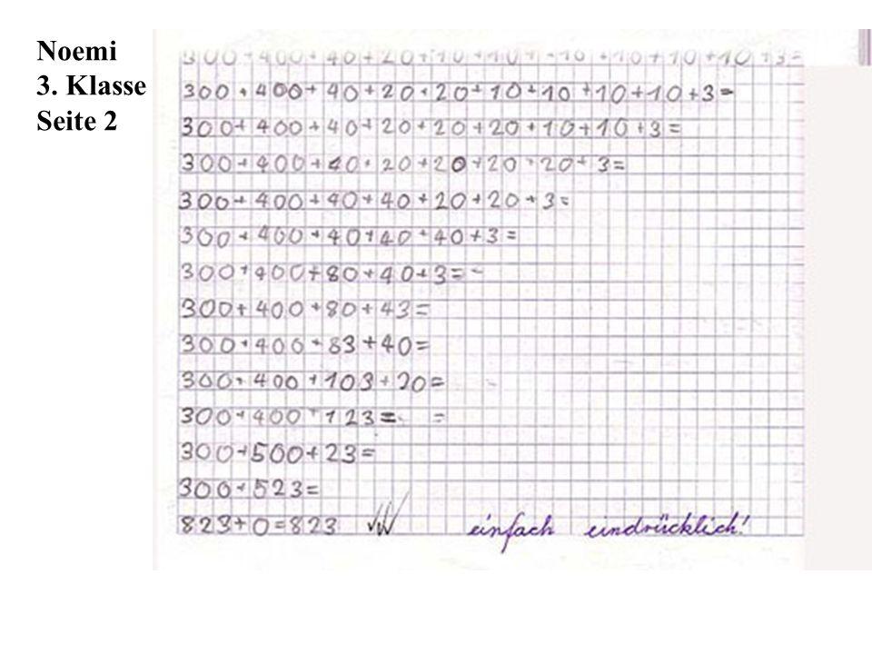 Noemi 3. Klasse Seite 2