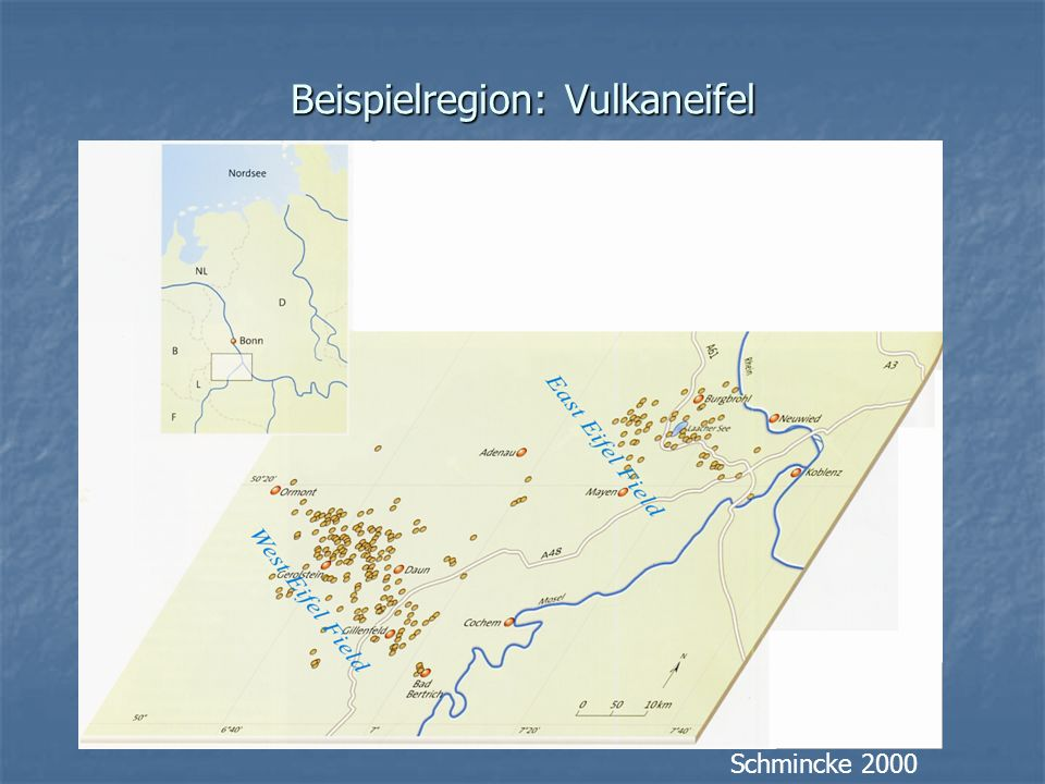Beispielregion: Vulkaneifel Schmincke 2000