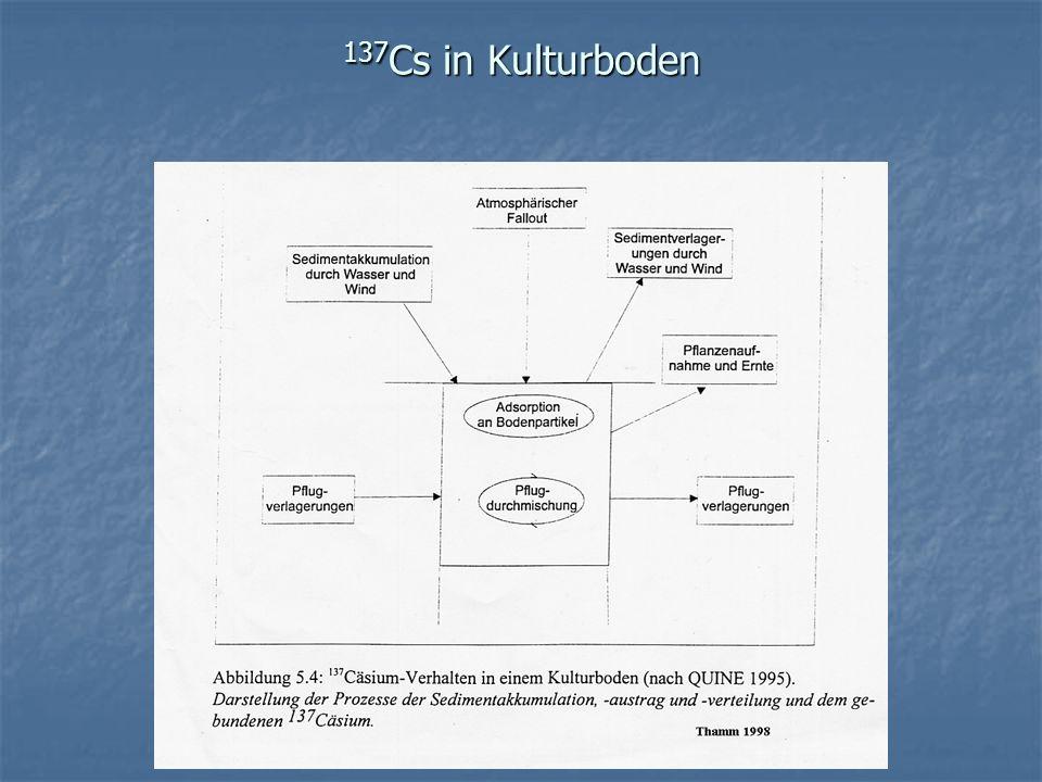 137 Cs in Kulturboden