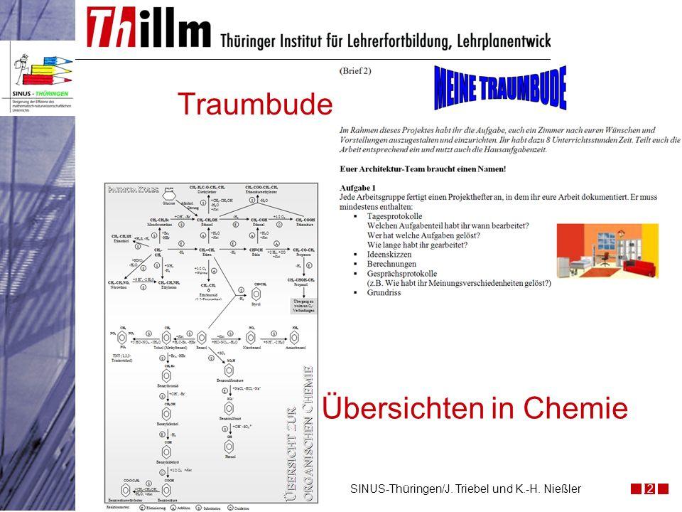 Traumbude 12SINUS-Thüringen/J. Triebel und K.-H. Nießler Übersichten in Chemie