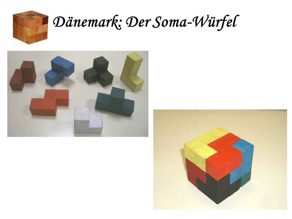 Der Somawürfel besteht aus allen irregulären [1] Drillingen und Vierlingen, also Nr. 3, 5, 6, 8, 9, 10, 11. [1] [1] mindestens eine einspringende Kant