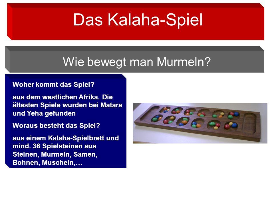 Woher kommt das Spiel.aus dem westlichen Afrika.