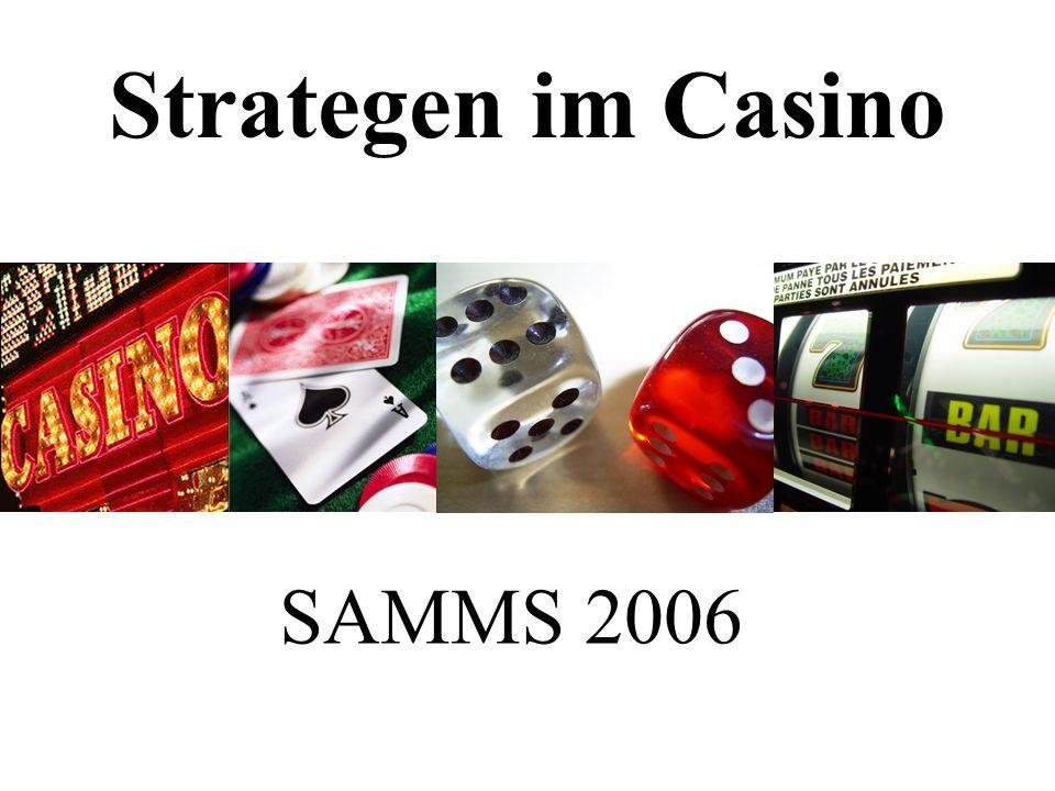 Strategen im Casino SAMMS 2006