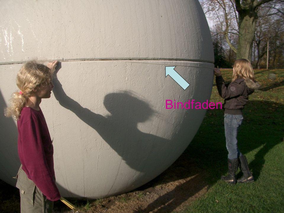 Wir messen den Durchmesser