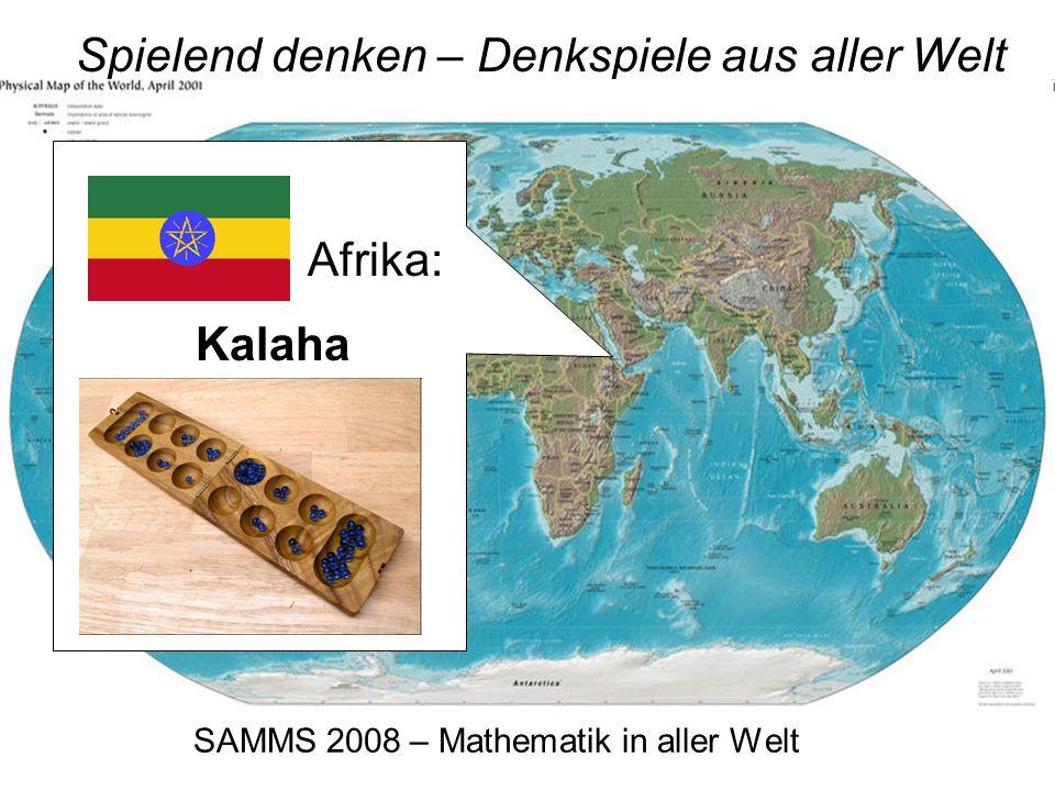 SAMMS 2008 – Mathematik in aller Welt Spielend denken – Denkspiele aus aller Welt Japan: Sudoku