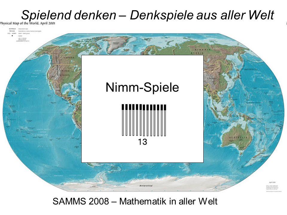 SAMMS 2008 – Mathematik in aller Welt Spielend denken – Denkspiele aus aller Welt Deutschland : Das Haus vom Nikolaus – und andere Zeichenspiele