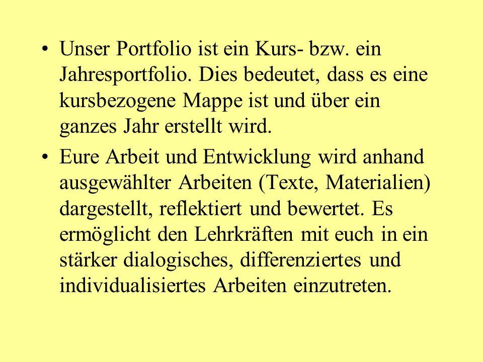 Beispiel für einen Rückmeldebogen Meine Eindrücke zu deiner Portfolioarbeit - Rückmeldebogen Von: An:Datum: Ich habe deine Arbeiten im Portfolio...