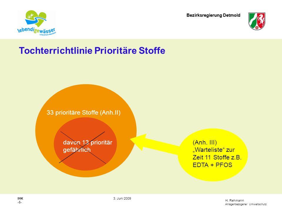 H.Rehmann Anlagenbezogener Umweltschutz Bezirksregierung Detmold IHK -6- 3.