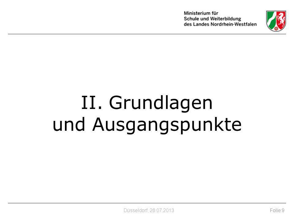 Düsseldorf, 26.07.2013 Entwicklung in anderen Bundesländern (z.