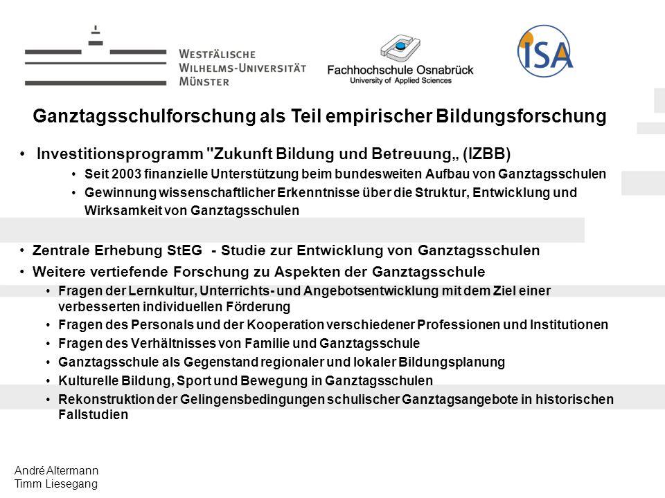 André Altermann Timm Liesegang http://www.bmbf.de/de/1125.php