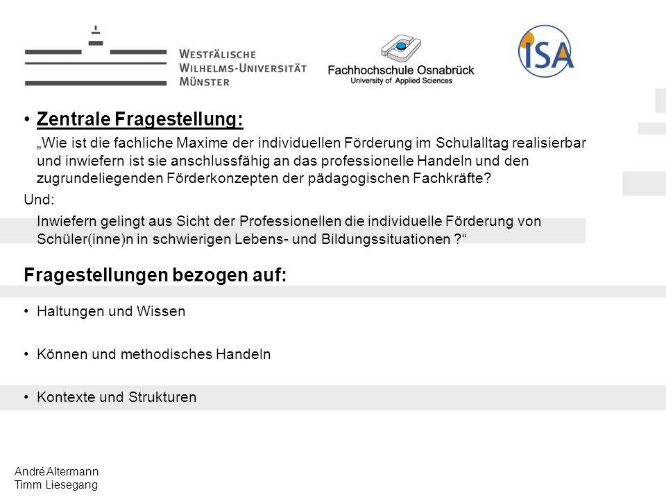 André Altermann Timm Liesegang Implikationen individueller Förderung methodische Implikation
