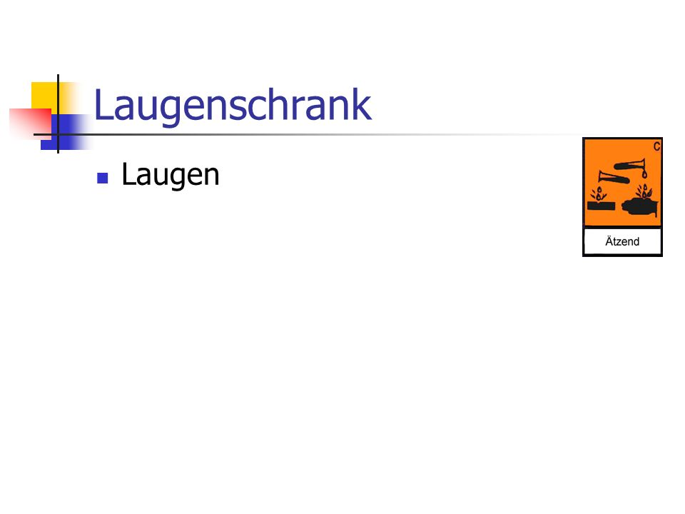 Laugenschrank Laugen