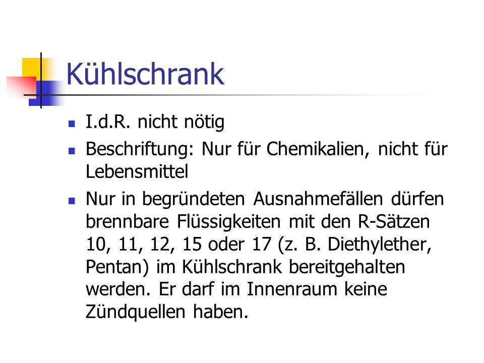 Kühlschrank I.d.R.