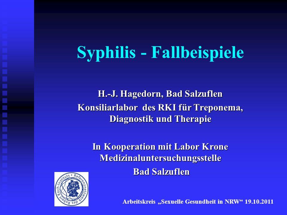 Interpretation von serologischen Befunden Die isolierte Bewertung von Laborbefunden ohne Kenntnis der Infektions- und ggf.